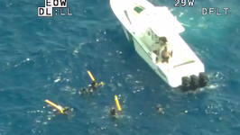 Emergency Crews Rescue Divers Separated From Dive Boat