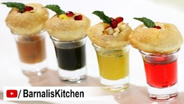 Panipuri Shots  Pani Puri - Golgappa Shots  How To Make Panipuri Shots