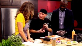 Chef AJ Cummings- Specialty Sushi Rolls and Kani Salad