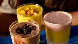 Lassi  3 Flavours  Summer Special Indian Sweet Yoghurt Drink