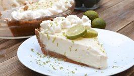 Easy Key Lime Pie - Creamy, Sweet And Tart