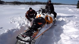 Snowmobile Quebec - 1000km Journey to the North