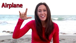 Baby Sign Language - Transportation ASL Sign Words - Train, Bus
