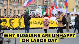 Russian humor at anti-Putin protest on historic May Day