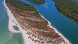 Florida Travel -  An Aerial View of Keewaydin Island, Florida