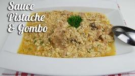 Sauce pistache (graine de courge) au gombo