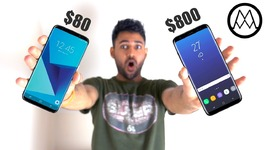 80 Samsung Galaxy S8 vs 800 Samsung Galaxy S8