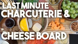 Make a PINTEREST and INSTAGRAM Perfect CHARCUTERIE and CHEESE BOARD Last Minute