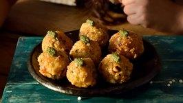 Sabudana Cheesy Vada  Crispy Veg Cutlets