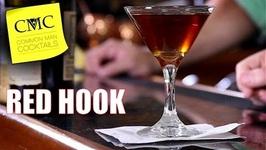 Manhattan Mondays Red Hook  Easy Rye Whiskey Cocktail