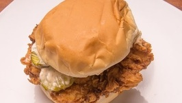 Cold Smoked Southern Fried Chicken Sandwich