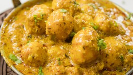 Shahi Aloo Dum  Indian Restaurant Style Kashmiri Shahi Baby Potato Curry