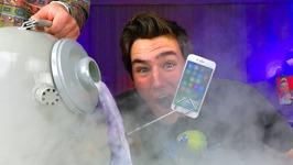 Liquid Nitrogren Vs Iphone 7 Bad Idea