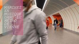 De la musique dans les couloirs du métro de Vienne