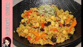 Recette Végétarienne de Boulghour d'épeautre à l'orientale