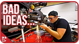 I almost messed up - Wrecked Bike Rebuild - Ep 09 - Ducati Monster