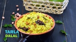 Tangy Kachi Keri Rice - Recipe In Hindi