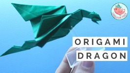 How to Make an Easy Origami Dragon  Origami Razorback Dragon ft. Paul Frasco, Fantastical Creatures