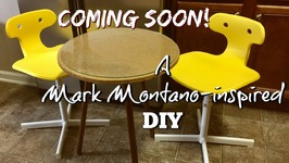 Mark Montano-Inspired DIY Reclaiming A Table  Thecreativelady