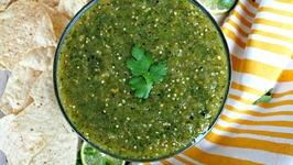 Appetizer Recipe- Homemade Salsa Verde