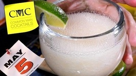 Cinco de Mayo Cocktail- Grapefruit Margarita With Tequila And A Blender