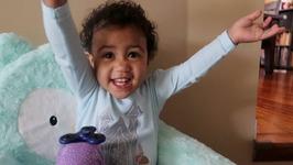Fidget Spinner Tricks On A Baby