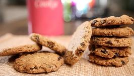 Oats Cookies Recipe  Crispy Oatmeal Cookies  Tea Time Snack Recipe  Beat Batter Bake With Upasana