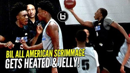 Gets Heated And Jelly At Bil All American Scrimmage - Collin Sexton, Jellyfam, Jaylen Hands And More