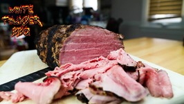 Deli Style Roast Beef At Home -Smoked Eye Of Round Roast