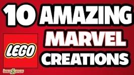 10 Amazing LEGO Marvel Creations
