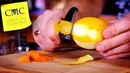 DIY SpringSummer Cocktail Ideas-Orange And Lemon Infused Vodka