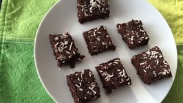 Vegan Gluten Free Brownies (With Black Beans)  Healthy Chocolate Power Bar