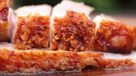 How To Make CRISPY PORK BELLY - Barriga De Porco - 五花肉 - 豚バラ肉 - Tonbara Niku - Char Siu