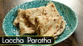 How to make Laccha Paratha  Paratha Recipes  The Bombay Chef  Varun Inamdar