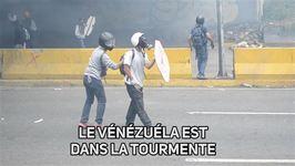 Au Vénézuéla, la tension est à son comble dans la rue