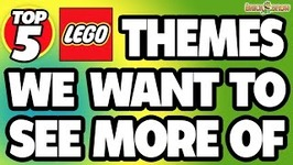 5 LEGO Set Themes We Want To See More Of