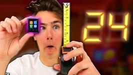 1 Inch Phone - 24 Hour Challenge