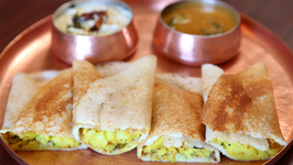 Masala Dosa Recipe  Popular South Indian Breakfast Recipe  Divine Taste With Anushruti