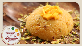 Mango Sheera  Recipe by Archana  Quick and Easy  Indian Sweet  Dessert in Marathi