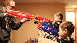 Nerf War  Mail Time Mayhem 40 All 2017 Nerf Guns Revealed