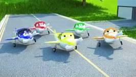 5 Little Airplanes Children's Song in Spanish - Cinco Aviones Canción Para Niños