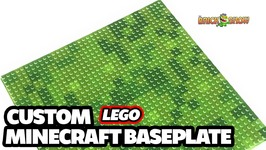 Minecraft Baseplate for Your LEGO Creations