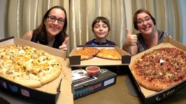 Best Pizza And Cheese Bread Feast  Gay Family Mukbang - Eating Show