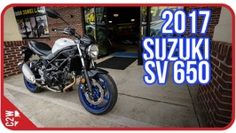 2017 Suzuki SV 650