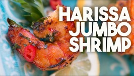 HARISSA Shrimp - Smothered In A NORTH AFRICAN Chilli Sauce
