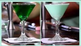 2 Saint Patrick's Day Drinks- Grasshopper v.s. Everybody's Irish Cocktail
