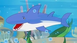 A Fish Song for Children, Kids and Toddlers - Learn to Swim - Sharks and Dolphins