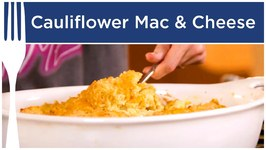 Healthy Mac And Cheese With Cauliflower