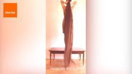 Real-Life Rapunzel Shows off Locks