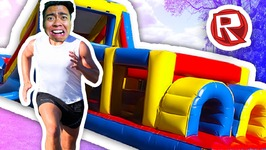 500 Plus LEVEL OBSTACLE COURSE -  Roblox